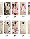 Kılıf Na Samsung Galaxy A5 (2018) / A6 (2018) / A6+ (2018) Transparentny / Wzór Osłona tylna Koronka Printing / Kwiat Miękka TPU