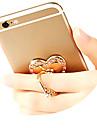 Telefon komórkowy Zamontuj uchwyt stojaka Obrót 360° / Uchwyt pierścieniowy Telefon komórkowy Typ stickup Metal Posiadacz