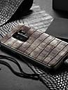 Kılıf Na Samsung Galaxy S9 Plus Odporny na wstrząsy / Wzór Osłona tylna Solidne kolory Twardość Skóra PU
