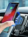 bezprzewodowa ładowarka qus car baseus automatyczny uchwyt automatyczny uchwyt do iphone 8 plus xr x xs max samsung galaxy s10 s10 + s10e s9 s8 inteligentny czujnik podczerwieni szybkie bezprzewodowe