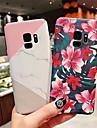 Kılıf Na Samsung Galaxy S9 / S9 Plus / S8 Plus Ultra cienkie / Wzór Osłona tylna Kwiat / Marmur Twardość PC