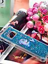 Kılıf Na Samsung Galaxy S9 / S9 Plus / S8 Plus Odporny na wstrząsy / Z płynem / Transparentny Osłona tylna Zwierzę / Połysk / Panda Miękka TPU