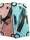 Kılıf Na Samsung Galaxy Tab S4 10.5 (2018) / Karta Galaxy A2 10,5 (2018) T595 T590 / Tab S3 9.7 Odporny na wstrząsy / Z podpórką Osłona tylna Dachówka / Zbroja Twardość PC