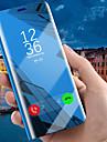 Kılıf Na Samsung Galaxy J8 (2018) / J7 Prime / J7 Max Z podpórką / Powłoka / Lustro Pełne etui Solidne kolory Twardość Skóra PU