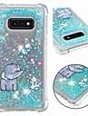 Kılıf Na Samsung Galaxy S9 / S9 Plus / S8 Plus Odporny na wstrząsy / Z płynem / Transparentny Osłona tylna Połysk / Słoń Miękka TPU