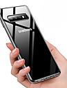 Kılıf Na Samsung Galaxy Galaxy S10 / Galaxy S10 Plus Odporne na kurz / Powłoka / Transparentny Osłona tylna Solidne kolory Miękka TPU