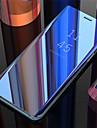 Kılıf Na Samsung Galaxy Galaxy S10 / Galaxy S10 Plus / Galaxy S10 E Lustro / Flip / Automatyczne uśpienie / wybudzenie Osłona tylna Solidne kolory Twardość Skóra PU