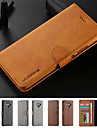 Kılıf Na Samsung Galaxy Note 9 / Note 8 Etui na karty / Z podpórką / Magnetyczne Pełne etui Solidne kolory Twardość Skóra PU