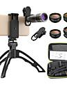 Obiektyw do telefonów komórkowych Obiektyw z filtrem / Obiektyw rybie oko / Obiektyw z dużą ogniskową Okulary / Stop aluminium 10X i więcej 32 mm 3 m 9 ° Obiektyw ze stojakiem