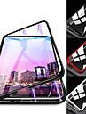 Kılıf Na Samsung Galaxy S9 / S9 Plus / S8 Plus Odporny na wstrząsy / Transparentny / Magnetyczne Pełne etui Solidne kolory Twardość Szkło hartowane / Metal