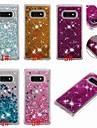 Kılıf Na Samsung Galaxy S9 / S9 Plus / S8 Plus Odporny na wstrząsy / Z płynem / Transparentny Osłona tylna Połysk Miękka TPU