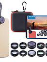Obiektyw do telefonów komórkowych Obiektyw z filtrem / Obiektyw rybie oko / Obiektyw z dużą ogniskową Okulary / Stop aluminium 2X 20 mm 15 m 198 ° Śłodkie / Nowoczesne