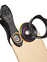Obiektyw do telefonów komórkowych Obiektyw szerokokątny Okulary / Stop aluminium 1X 37 mm 0.15 m 115 ° Nowy design