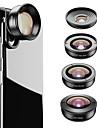 Obiektyw do telefonów komórkowych Obiektyw rybie oko / Obiektyw z dużą ogniskową / Obiektyw szerokokątny Okulary / Stop aluminium 2X 37 mm 0.01 m 195 ° Nowy design / Nowoczesne