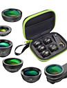 Obiektyw do telefonów komórkowych Obiektyw z filtrem / Obiektyw rybie oko / Obiektyw z dużą ogniskową Okulary / Stop aluminium 2X 25 mm 15 m 210 ° Kreatywne / Nowy design
