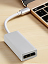 Type-c Adapter / Kable <1m / 3ft OTG Tworzyw sztucznych i metali / ABS + PC Adapter kabla USB Na Macbook