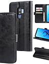 Kılıf Na Samsung Galaxy S9 / S9 Plus / S8 Plus Portfel / Etui na karty / Odporny na wstrząsy Osłona tylna Solidne kolory Twardość Skóra PU