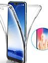 Kılıf Na Huawei Huawei P20 / Huawei P20 Pro / Huawei P20 Lite Odporny na wstrząsy / Ultra cienkie / Transparentny Pełne etui Solidne kolory Miękka TPU / P10 Plus / P10 Lite / P10