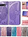 Kılıf Na Samsung Galaxy S9 / S9 Plus / S8 Plus Portfel / Etui na karty / Flip Pełne etui Motyl Twardość Skóra PU / TPU