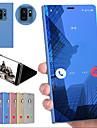 Coque Pour Samsung Galaxy Note 9 / Note 8 / Note 5 Edge Antichoc / Avec Support / Miroir Coque Couleur Pleine Dur PC