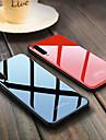 Kılıf Na Samsung Galaxy A6 (2018) / A6+ (2018) / A8 2018 Odporny na wstrząsy Osłona tylna Solidne kolory Twardość TPU / Szkło hartowane