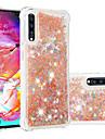 Kılıf Na Samsung Galaxy A6 (2018) / A6+ (2018) / Galaxy A7(2018) Odporny na wstrząsy / Z płynem / Transparentny Osłona tylna Połysk Miękka TPU