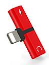 Oświetlenie Adapter 1 do 2 Stal nierdzewna Adapter kabla USB Na iPhone