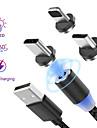 Oświetlenie Kable 1.0m (3 stopy) Pleciony / Magnetyczne / LED Nylon / Włókniny / Świecący Adapter kabla USB Na iPad / iPhone
