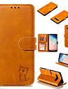 Kılıf Na Samsung Galaxy S9 / S9 Plus / S8 Plus Portfel / Etui na karty / Z podpórką Pełne etui Solidne kolory / Kot Twardość Skóra PU