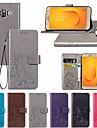 Kılıf Na Samsung Galaxy J7 Duo / J7 Prime / J7 (2018) Portfel / Z podpórką / Flip Pełne etui Solidne kolory / Motyl / Kwiat Twardość Skóra PU
