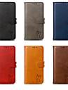 Kılıf Na Samsung Galaxy S9 / S9 Plus / S8 Plus Portfel / Etui na karty / Flip Pełne etui Kot / Zwierzę Twardość Skóra PU