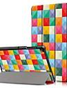 Kılıf Na Samsung Galaxy Samsung Tab S5e T720 10.5 / Samsung Tab A 10.1 (2019) T510 Odporny na wstrząsy / Flip / Origami Pełne etui Wzór geometryczny Twardość Skóra PU