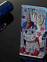 Kılıf Na Samsung Galaxy Galaxy A7(2018) / Galaxy A9 (2018) / Galaxy A10 (2019) Portfel / Etui na karty / Z podpórką Pełne etui Zwierzę Twardość Skóra PU