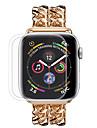 nowe szkło hartowane pełne pokrycie dla zegarka Apple 4 serii 40 mm / 44 mm