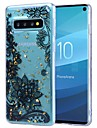 Kılıf Na Samsung Galaxy S9 / S9 Plus / Galaxy S10 Odporny na wstrząsy / Transparentny / Wzór Osłona tylna Kwiat Miękka TPU