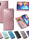 Kılıf Na Samsung Galaxy A5 (2018) / A6 (2018) / A6+ (2018) Portfel / Etui na karty / Odporny na wstrząsy Pełne etui Solidne kolory Twardość Skóra PU