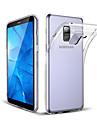 Kılıf Na Samsung Galaxy A8+ 2018 / A8 Odporny na wstrząsy / Odporne na kurz Osłona tylna Transparentny Miękka TPU / Żel krzemionkowy