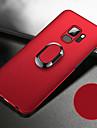 Kılıf Na Samsung Galaxy S9 / S9 Plus / S8 Plus Odporny na wstrząsy / Z podpórką / Uchwyt pierścieniowy Osłona tylna Solidne kolory Twardość PC / Metal / Ultra cienkie