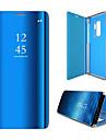 Kılıf Na Samsung Galaxy S6 edge Flip / Automatyczne uśpienie / wybudzenie Pełne etui Solidne kolory Twardość PC