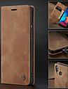 Kılıf Na Samsung Galaxy Galaxy A20e Portfel / Etui na karty / Odporny na wstrząsy Pełne etui Solidne kolory Twardość Skóra PU / Ultra cienkie
