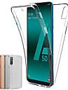 Kılıf Na Samsung Galaxy Samsung Galaxy A90 (2019) / Samsung Galaxy A70 (2019) Odporne na kurz / Ultra cienkie / Półprzezroczyste Pełne etui Solidne kolory TPU