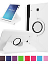 Kılıf Na Samsung Galaxy Tab E 9.6 Etui na karty / Odporny na wstrząsy Pełne etui Solidne kolory Twardość Skóra PU