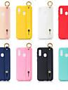 Kılıf Na Samsung Galaxy A6 (2018) / A6+ (2018) / Galaxy A7(2018) Z podpórką / Matowa Osłona tylna Solidne kolory TPU
