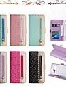 Kılıf Na Samsung Galaxy S9 / S9 Plus / S8 Plus Portfel / Etui na karty / Odporny na wstrząsy Pełne etui Linie / fale Twardość Skóra PU