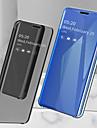 Kılıf Na Samsung Galaxy S9 / S9 Plus / S8 Plus Odporny na wstrząsy / Powłoka / Lustro Pełne etui Solidne kolory Twardość Skóra PU
