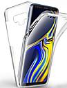 360 stopni etui na całą obudowę do samsung galaxy note 10 plus note 10 note 9 note 8 case przezroczysty pc silikon cienki żel TPU miękka okładka