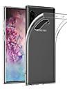 Smukła, przezroczysta, miękka obudowa TPU do Samsung Galaxy Note 10 plus Note 10 Note 9 Note 8 Ultra-cienki futerał