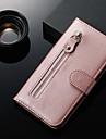 Kılıf Na Samsung Galaxy S9 Plus / Note 9 / Note 8 Portfel / Etui na karty / Z podpórką Pełne etui Solidne kolory Skóra PU