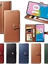 Kılıf Na Samsung Galaxy Note 9 / Note 8 / Galaxy Note 10 Portfel / Etui na karty / Odporny na wstrząsy Pełne etui Solidne kolory Skóra PU