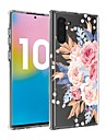 Kılıf Na Samsung Galaxy Note 9 / Galaxy Note 10 / Galaxy Note 10 Plus Transparentny / Wzór Osłona tylna Kwiat TPU